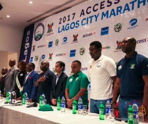 Press conference of the Lagos City Marathon 2017