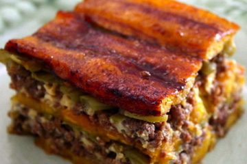 Plantain Lasagna - Food recipes