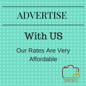 Advertise with Deedeesblog