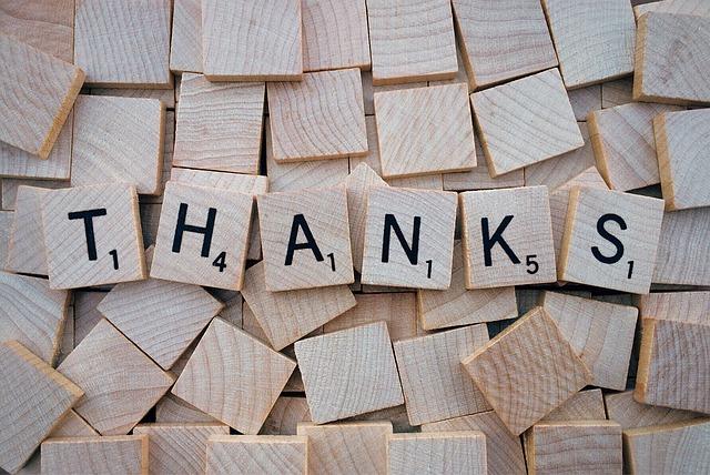 thank you appreciation messages