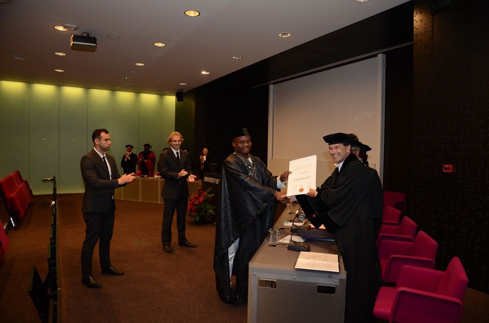 Nigerian Student bags incredible PhD achievement