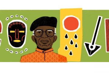 Google Doodle Today Celebrates Chinua Achebe