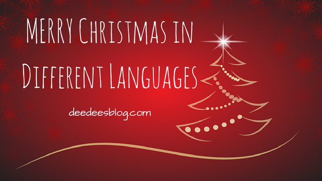 how to say merry christmas in Nigeria