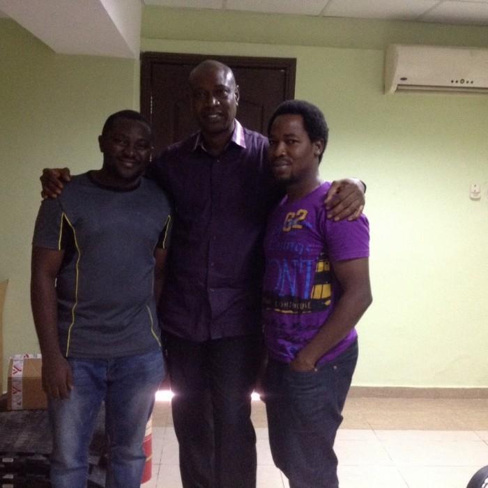 Deedeesblog team with the GM Lagos City Marathon 2016