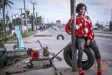 street shoot with Nana Jay