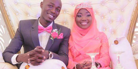 amazing love story of Akeem and Lateefah