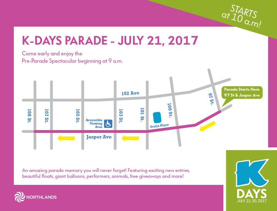 Edmonton K days parade