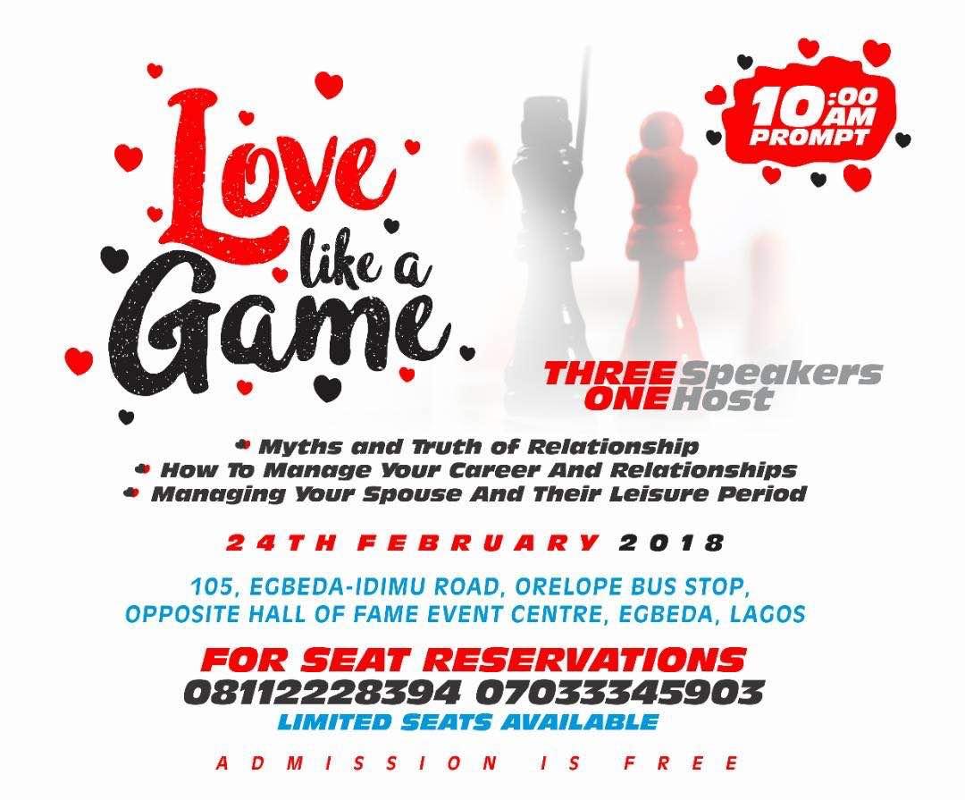 love like a game