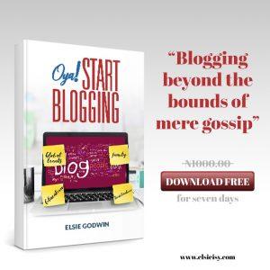 oya start blogging