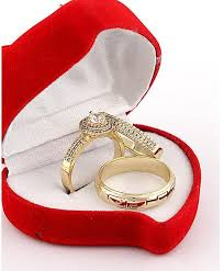 Price of gold wedding ring in Nigeria