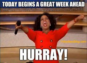happy new week memes