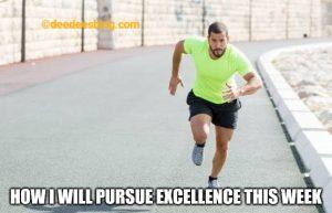Pursuing excellence