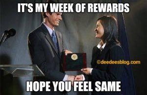 Week of rewards