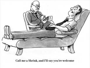 Is a Local Psychiatrist Called Shrink?