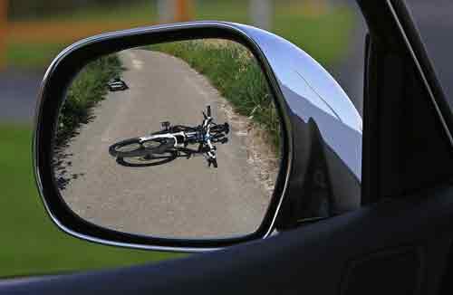 Steps Right After A Bike-Car Crash